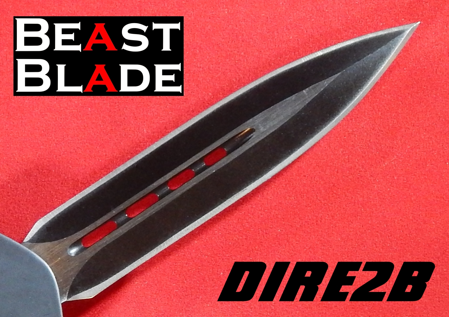 9 Inch Dagger, Double Edged, Straight Blade