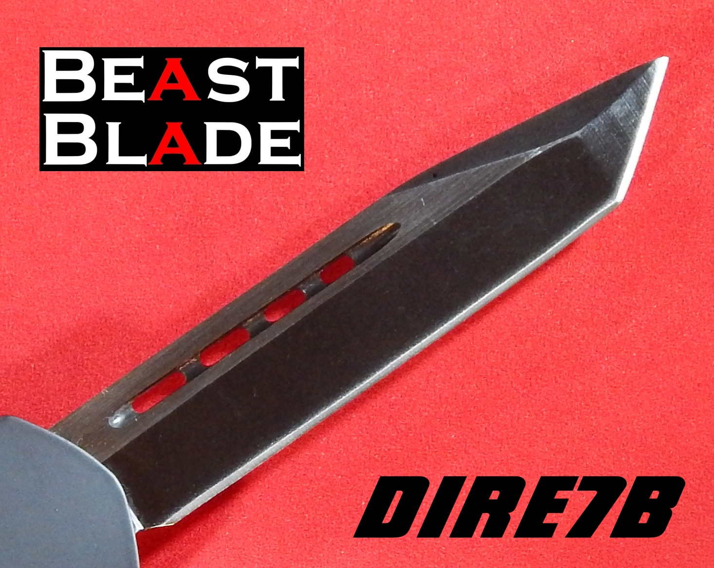 7 Inch Tanto, Straight Blade